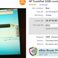 HP TouchPad con Android 2.2