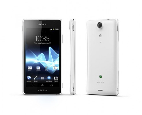 Sony Xperia GX White Android